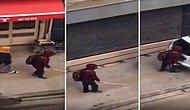 Burası Türkiye: Görme Engelli Genç, Kendine Ait Yolda Yürürken Kafasını Arabaya Çarptı!