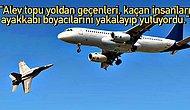 1963'te İki Uçağın Ankara Üzerinde Çarpışıp Alev Topu Haline Gelmesiyle 120 Kişinin Canına Mâl Olan Ulus Faciası