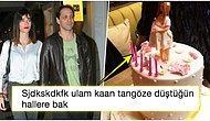 Hey Gidi Rockstar! Kaan Tangöze ve Kıvılcım Ural'ın Baby Shower Partisinde Yaptırdığı Pembe Pastaya Gelen Komik Tepkiler