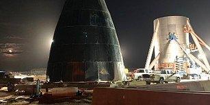 Elon Musk Mars'a 100 Yolcu Taşıyacak 'Starship' Gemisinin Yapımını Twitter'da Paylaştı!