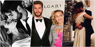 2018'in Son Sürpriz Evlilik Haberi Onlardan Geldi! Miley Cyrus ve Avustralyalı Oyuncu Liam Hemsworth Evlendi!