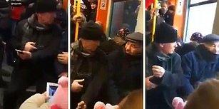 Metroda Telefon Yüzünden Tartışan Amcalar