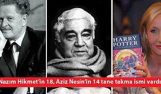 Türk ve Dünya Edebiyatından 20 Yazar ve Kullandıkları Takma İsimler