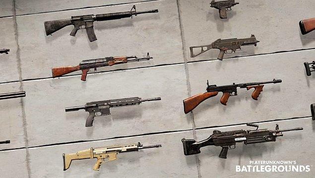 PUBG'de en güçlü silahlar hangileri? Ne taşımalıyız?