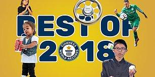 2018'de Guinness Rekorlar Kitabı'na Girmeyi Hak Kazanmış En İyi Rekorlar!