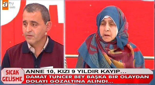 Programa katılan Tuncer Ustael, yayın sırasında başka bir suçtan dolayı gözaltına alınıp cezaevine gönderildi.