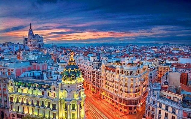 7. Madrid, İspanya