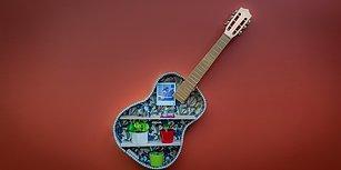 Eski Gitardan Duvar Aksesuarı Yapmak #güzelfikir