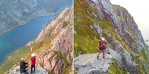 Norveç'in Muhteşem Güzelliği Altında Evlilik Teklifi Yaparak Çıtayı Arşa Çıkaran Adam