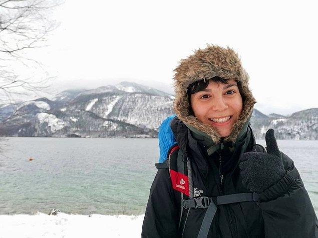 13. Dünyayı yürüyerek seyahat eden performans sanatçısı Dicle Doğan