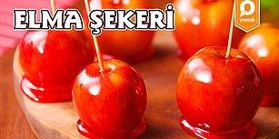 Çocukluğunuza Geri Dönmeye Hazır Mısınız? Elma Şekeri Nasıl Yapılır?
