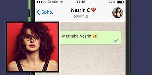 WhatsApp'ta Nesrin Cavadzade'yi Tavlayabilecek misin?