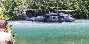Sikorsky'den Helikopteri Nehre İndiren Jandarma'ya Cesaret ve Yetenek Ödülü!