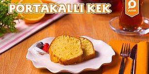 Çayları Demleyin! Çay Saatlerinizi Keyiflendirecek Lezzet: Portakallı Kek Nasıl Yapılır?