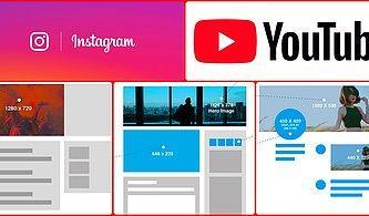 Facebook, Twitter, Instagram ve Daha Fazlası: Tüm Sosyal Medya Hesaplarınız İçin 2019'da Kullanacağınız Güncel Görsel Boyutları