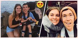 Fiziksel Engele Sahip İnsanların Umut Işığı Olmak İçin Kendi İlişkilerini YouTube'da Paylaşan Çift