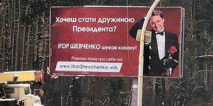 Seçim Kampanyasının Böylesi: Ukrayna Devlet Başkan Adayı İlanla Eş Arıyor