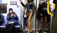 Geleneksel 'Pantolonsuz Metro Günü' Etkinliği Bu Yıl da Gerçekleşti!