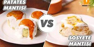 Kayseri'nin Gözbebeği Mantıya İki Dev Rakip! Patates Mantısı vs Sosyete Mantısı Nasıl Yapılır?