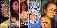 Başörtüsünü Çıkardıktan Sonraki Değişimlerini Sosyal Medyada Yayınlayan Kadınlar Gündeme Oturdu
