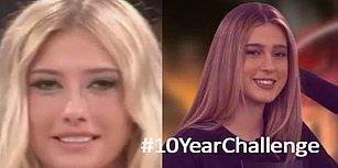 #10YearsChallenge Akımıyla Bir Güzel Dalga Geçip Kahkahalar Attırmış 14 Kişi