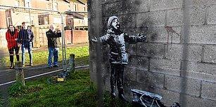Banksy'nin Garaj Duvarına Çizdiği Resim Satıldı: '6 Haneli Bir Ücret Ödedim'