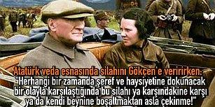 Göklerin Kızı Sabiha Gökçen'in Atatürk'ün İç Burkan Duygusal Vedasıyla Dersim Harekâtı'na Katılma Hikayesi