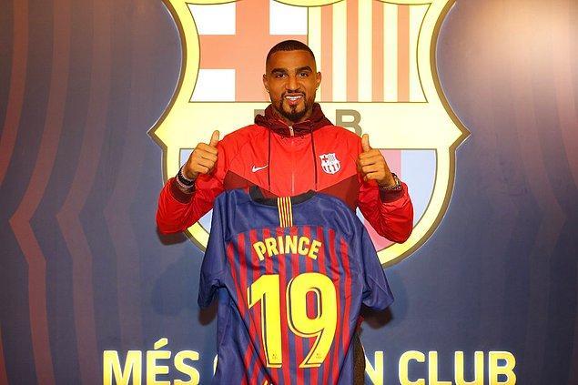 Kevin-Prince Boateng ➡️ Barcelona