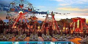 Antalya Lara'da Hem Aquaparkı Hem Lunaparkı ile Sizi ve Çocuğunuzu Eğlence Dolu Bir Tatil Bekliyor!
