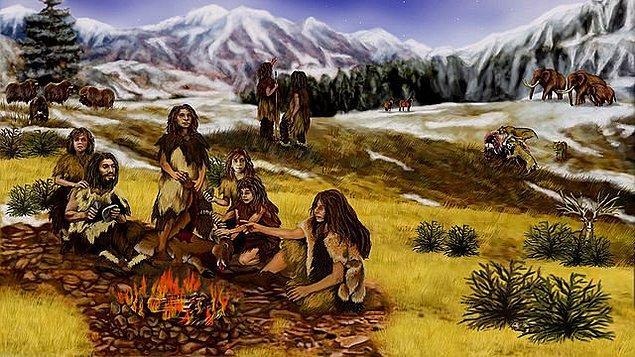 Neandertaller, bizden çok daha önce evrim sahnesinde yerini aldı ve yine biz daha oraya varmadan Avrupa'da yaşadı.