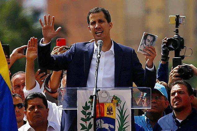 """""""Şu an Venezuela'da Bay Guaido kendini yeni cumhurbaşkanı ilan etti. Bu sorunu çözmek için bir yol haritanız var mı?"""""""