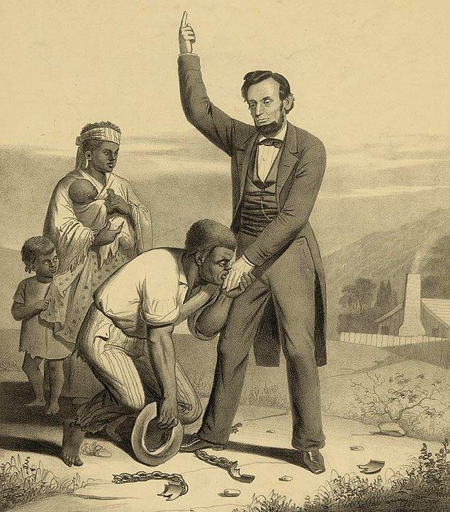 1865: ABD Temsilciler Meclisi, köleliği yasaklayan yasayı onayladı.