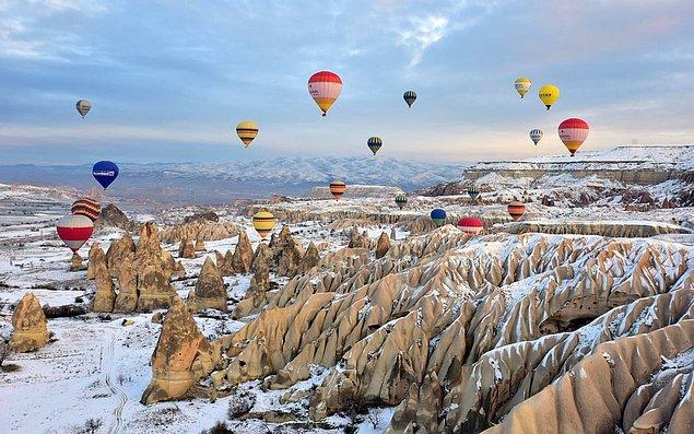 6. Nevşehir - Kapadokya