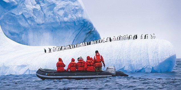 1820: Antarktika'nın keşfi.