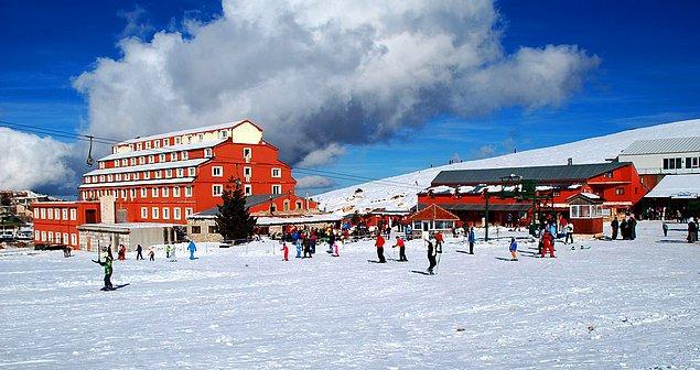 14. Antalya - Saklıkent Kayak Merkezi