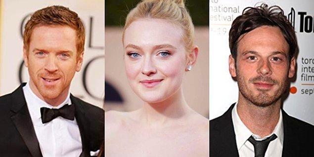 Bu yıldızların dışında filmde; Damian Lewis, Dakota Fanning, Scoot McNairy gibi tanınmış oyuncular da oynuyor.