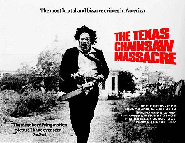 12. The Texas Chain Saw Massacre - IMDb Puanı: 7.5