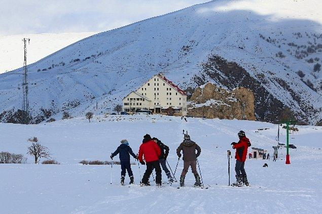 26. Bayburt - Kop Dağı Kayak Tesisleri