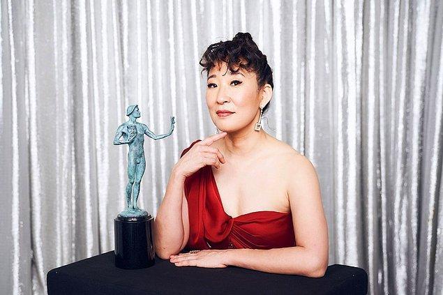"""En İyi Kadın Oyuncu (TV - Drama): Sandra Oh, """"Killing Eve"""""""
