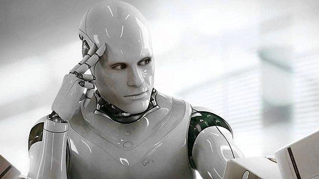 """14. Google'ın yapay zeka botu hayatın amacının """"Sonsuza kadar yaşamak"""" olduğunu söylüyor."""