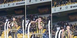 Fenerbahçe - Yeni Malatya Maçında Sahaya Buğday Atarak Dua Eden Taraftar