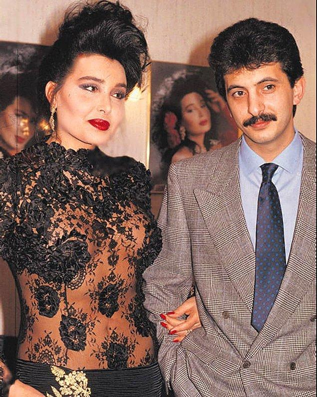 5. Bülent Ersoy ve 80'lerde 14 yıl birlikte olduğu nişanlısı Birol Gürkanlı. Birol Bey maalesef geçtiğimiz sene hayatını kaybetti.