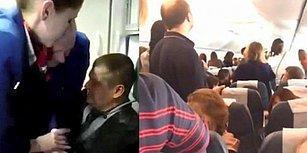 Sarhoş Yolcunun Hostesi Yumruklaması Yüzünden Antalya Uçağı Acil İniş Yaptı!