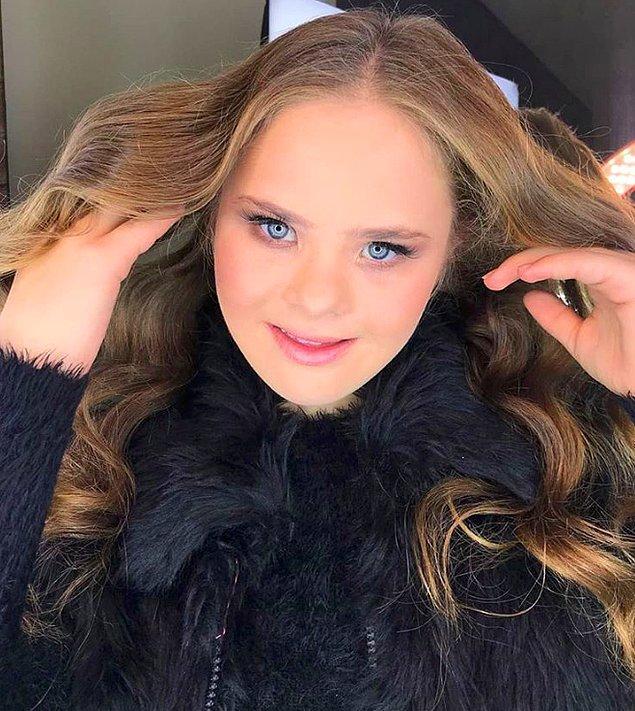 14 yaşındaki Georgia Traebert, şu anda Instagram'da 62 binden fazla takipçiye ulaşmış durumda ve Brezilya'da büyük markalara modellik yapıyor.