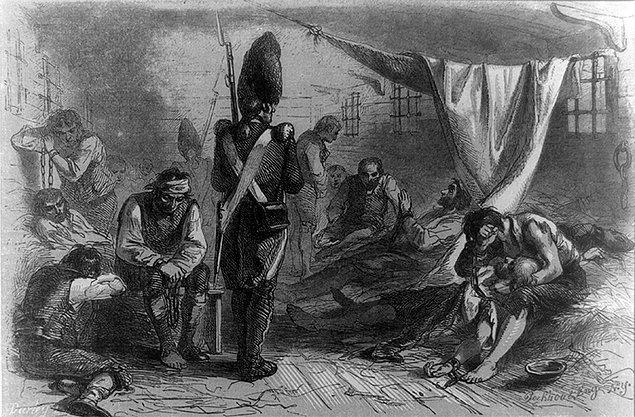 15. 1700'lerde Fransız mahkumlara bir hayat kadınıyla evlenip Louisiana'ya taşınmaları karşılığında özgürlükleri vaat ediliyordu.