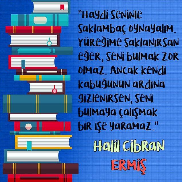 """10. Halil Cibran  - """"Ermiş"""""""