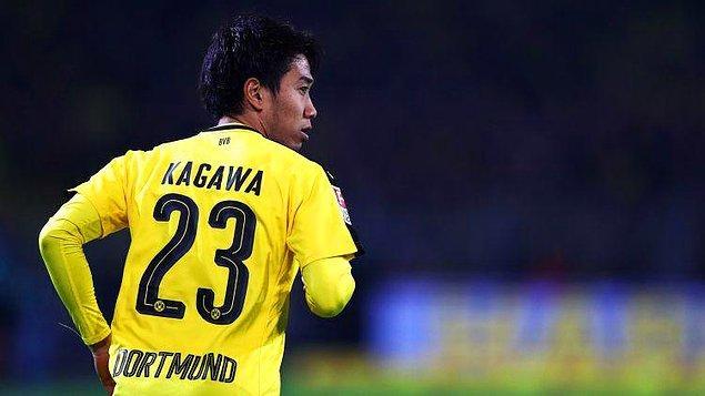 Kagawa, 2010 yılında bedelsiz olarak Borussia Dortmund'a transfer oldu.