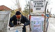 Çöp Toplayarak 2 Torununa, Eşine ve Cezaevindeki Oğluna Bakan İki Gözü Görmeyen 88 Yaşındaki Adam!