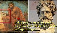 Yılanlı Asasıyla Günümüzde Tıp ve Eczacılığın Simgesi Haline Gelen Yunan Mitolojisinin Sağlık Tanrısı Askleipos