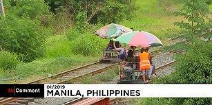 Demiryolunda Trene Alternatif Araç: Filipinler'in Demiryolu Dolmuşçuları